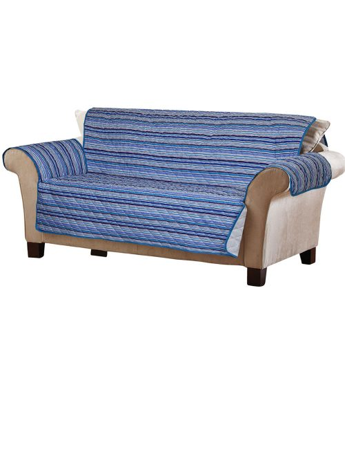 Candy Stripe Sofa Cover Set