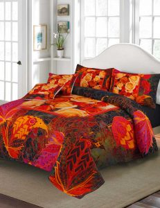 Dream Delight Digital Printed 3D Bed Sheet Set
