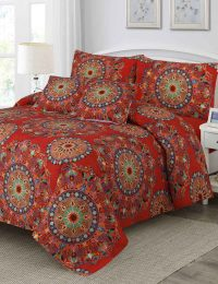Artland Digital Printed 3D Bed Sheet Set