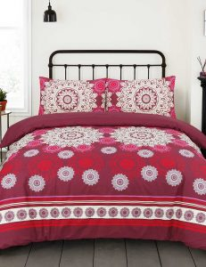 F13 Floral Duvet Cover Set - 3 Pieces