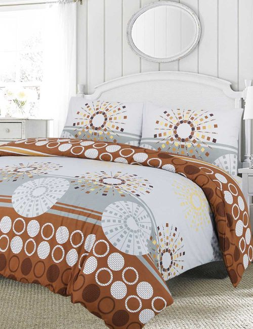 F3 Floral Duvet Cover Set - 3 Pieces