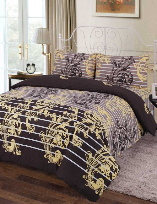 F5 Floral Duvet Cover Set - 3 Pieces