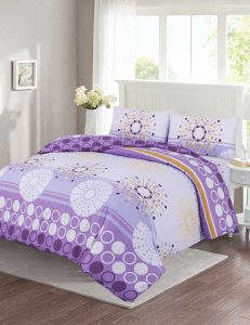F7 Floral Duvet Cover Set - 3 Pieces