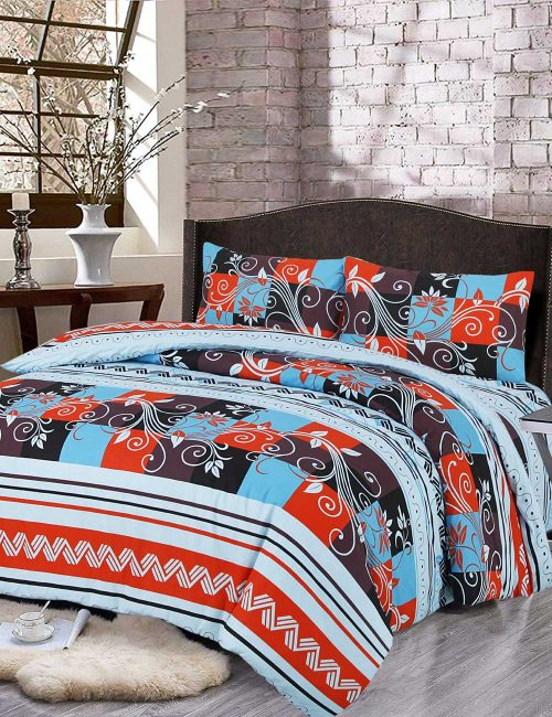 F8 Floral Duvet Cover Set - 3 Pieces
